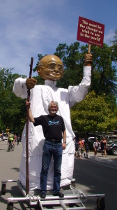 Gandhi Puppet in Fairfax
